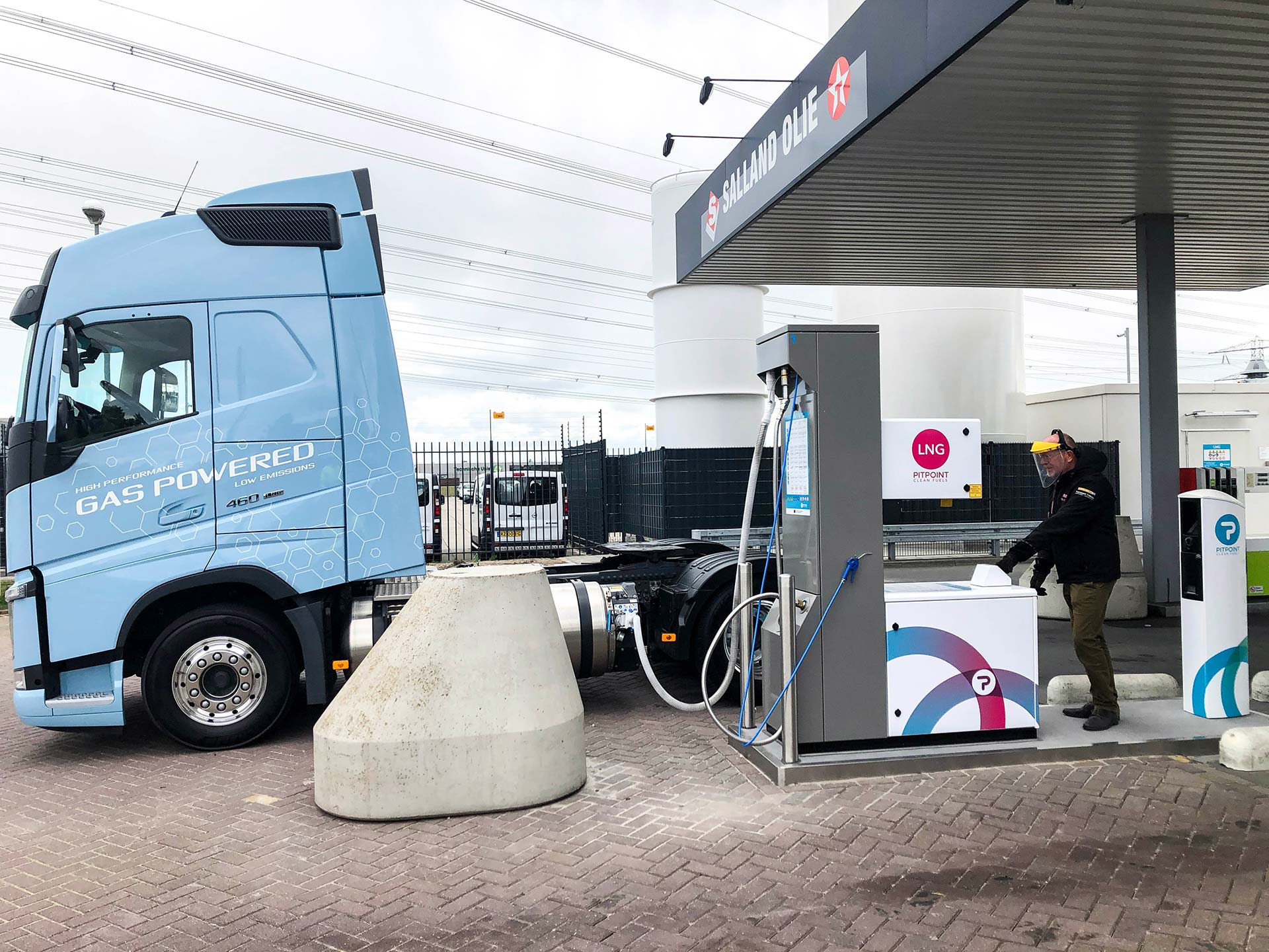 Nu extra koud LNG bij vernieuwd PitPoint.LNG-station in Zwolle