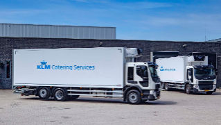 KLM Catering, 5x Volvo FE250 6x2