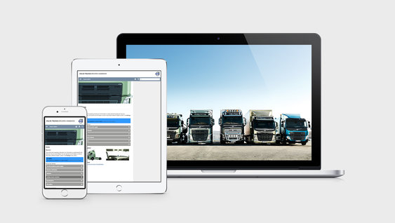 Download hier uw Volvo Trucks-chauffeurshandboek