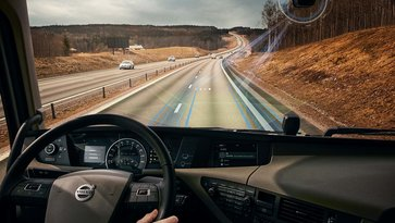Volvo Dynamic Steering met Lane Keeping Assist