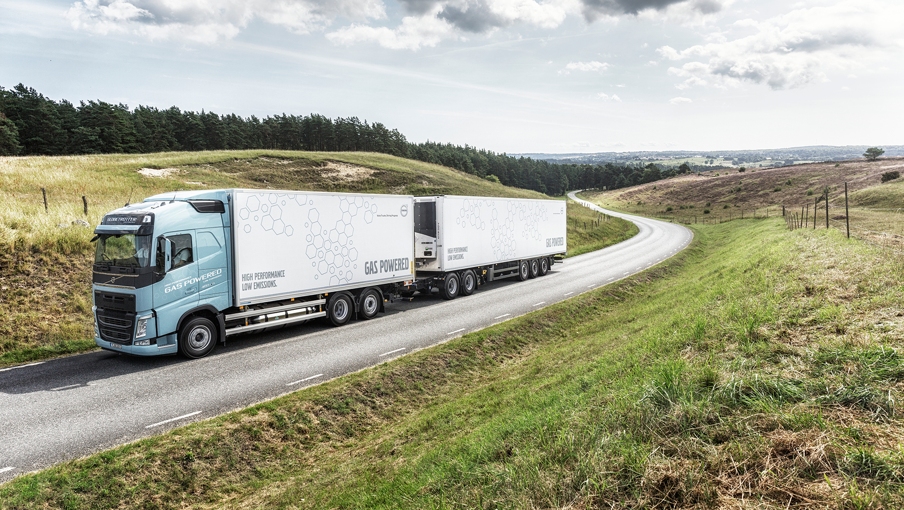 Volvo FH LNG-truck