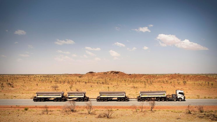 Driver's World: Australische outback.