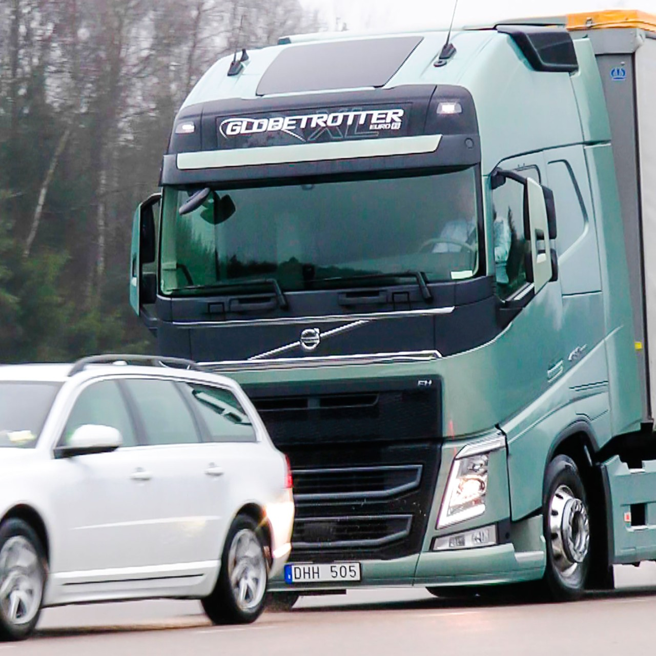 Volvo Trucks Electronic Braking System