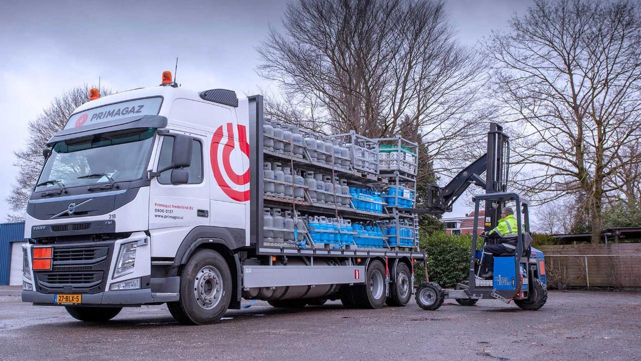 Jongeneel Transport kiest met de Volvo FM LNG voor dezelfde rijprestaties als bij diesel, maar met 20% minder CO2-uitstoot.