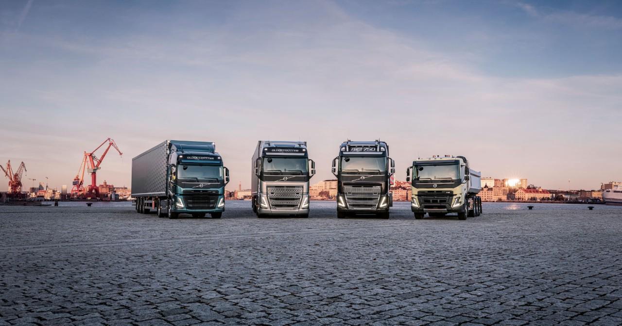 Nieuwe heavy duty-trucks van Volvo Trucks