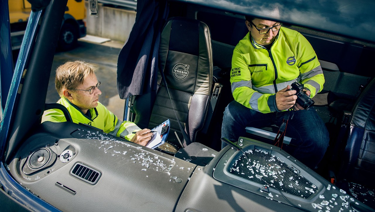 Volvo Trucks' Accident Research Team