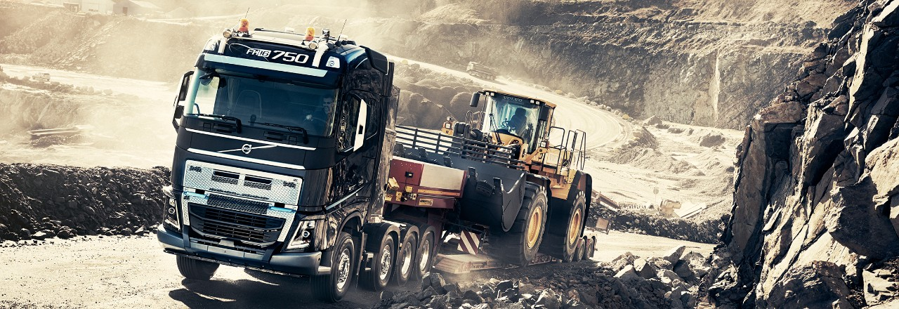 Volvo trucks global FH 16 construction