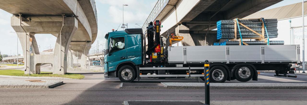 Maak voor uw Volvo FM een keuze uit een breed scala aan asopstellingen, wielbases en chassishoogtes.